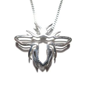 Dior 3-D Bee Sterling Silver Necklace